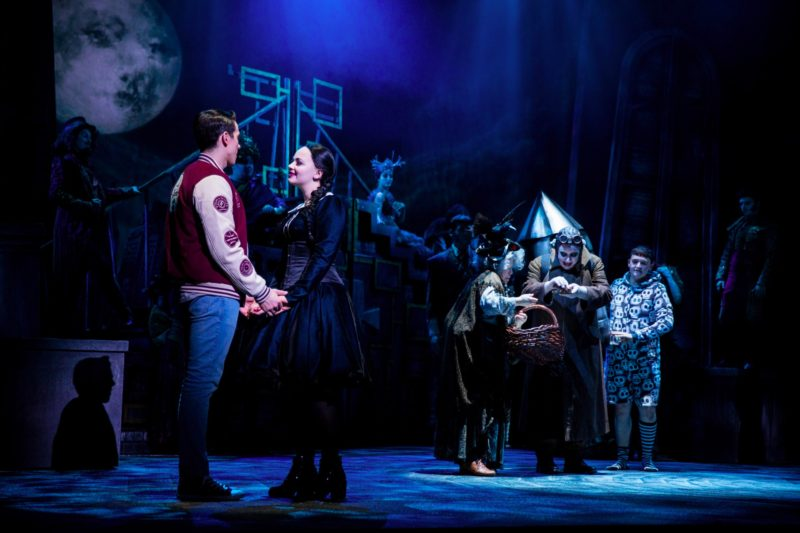I'm Crazier Than You…' The Addams Family, Orchard Theatre